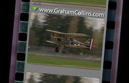 an SE5A replica from a video shot and edited by Graham Collins for the Canadian Museum of Flight